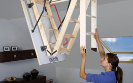 Wooden Loft Ladder