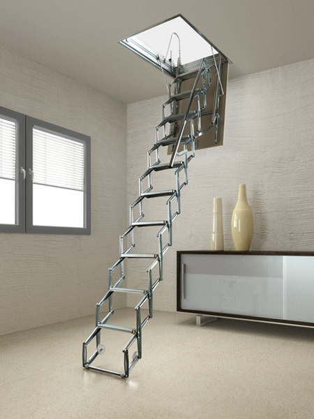 PAN Concertina Loft Ladder