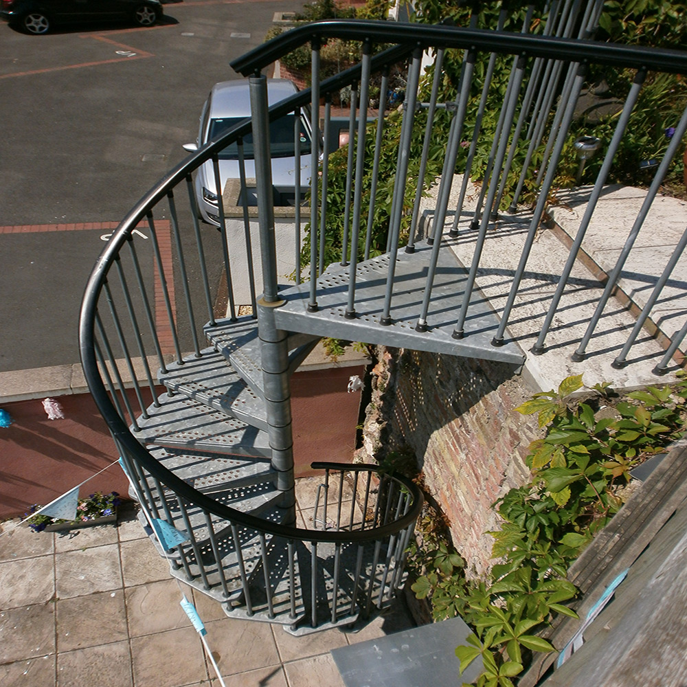 Awesome Civik Zinc External Staircase ...