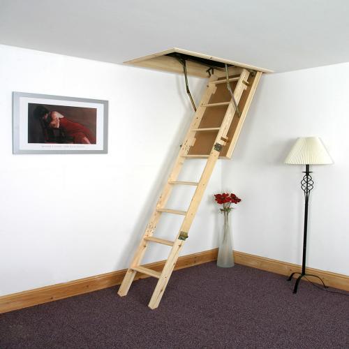 Loftmate Timber Loft Ladder.