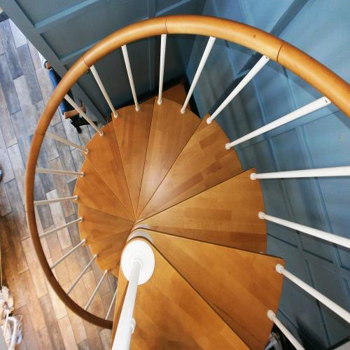 Genius Spiral Stairs