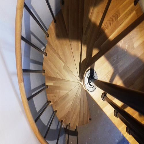 Small Genius Spiral Staircase