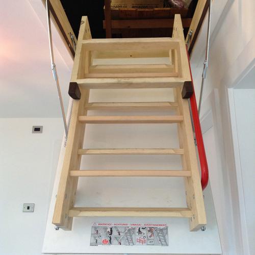 Timber Loft Ladder.